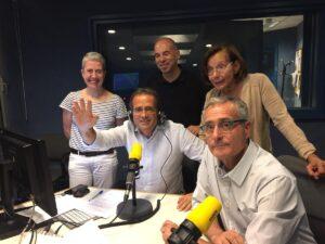 Marta Lasalas, Kilian Sebrià, David Minoves, Montse Tura i Martí Far