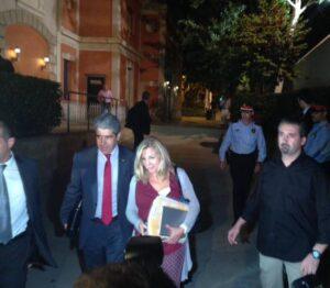 Joana Ortega i Quico Homs