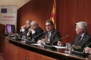 Artur Mas y Andreu Mas-Colell