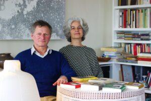 Maria Bohigas i la seva parella, Alejandro Dardik