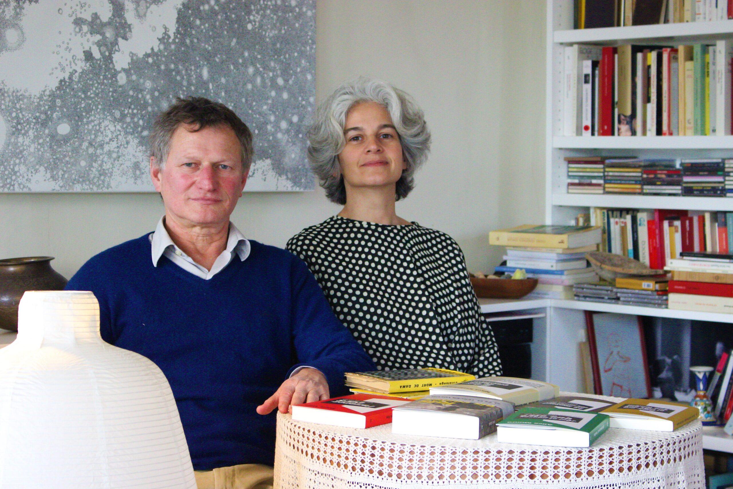 Maria Bohigas y su pareja, Alejandro Dardik