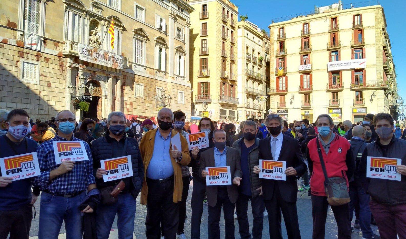 Membres de la Federació Catalana de Karate