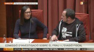 Mercè Gironès compareix al Parlament a la comissió d'investigació