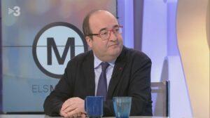 Miquel Iceta en Els Matins de TV3