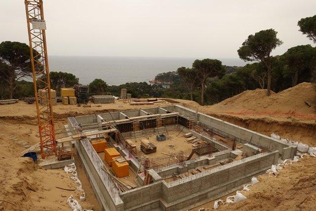 Urbanización de la zona de Montcal 2 en Begur