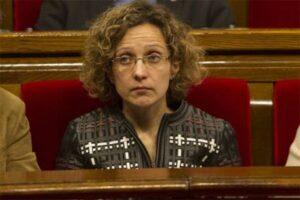 La consellera d'Ensenyament, Meritxell Ruiz.