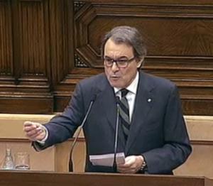 Artur Mas defensa la seva candidatura per ser reelegit president de la Generalitat