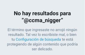 El compte de ccma_NIGGER ja no existeix