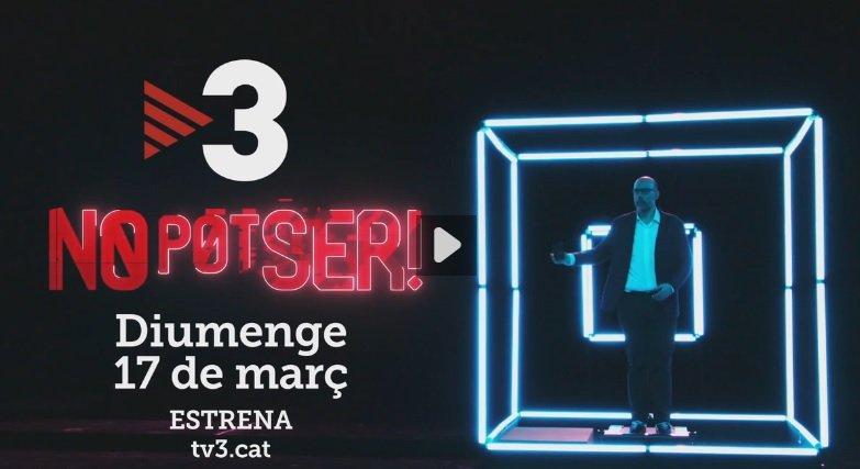 imatge promocional del programa de Tv3 'No pot ser!'