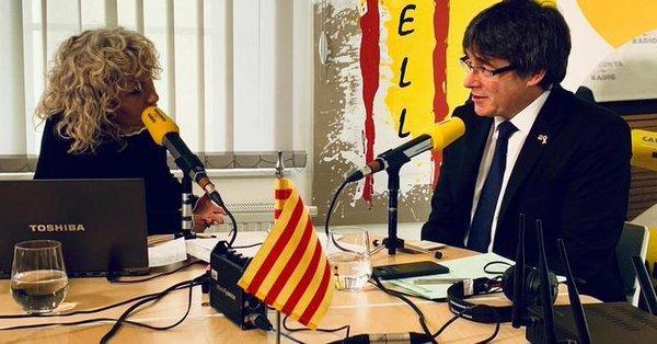 Entrevista a Carles Puigdemont