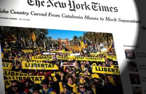 Article de The New York Times parlant de la situació catalana