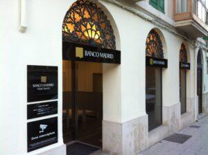 oficina banco madrid
