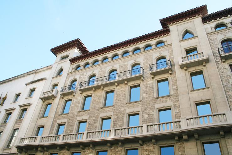 Sede del Instituto de Estadística de Cataluña (Idescat)