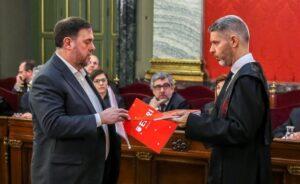 Oriol Junqueras al Tribunal Suprem