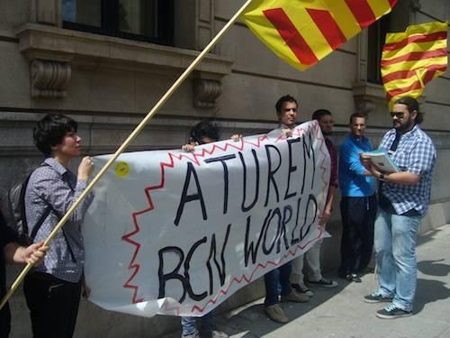 Aturem Barcelona World