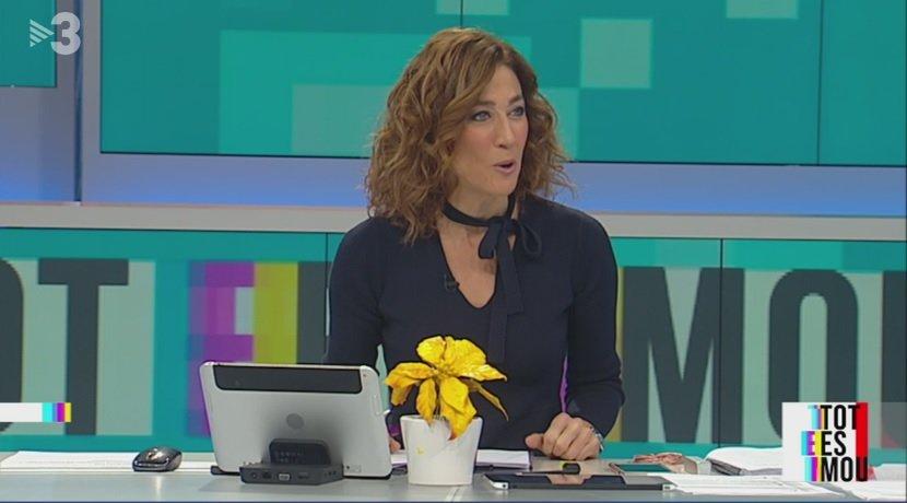 Helena Garcia Melero presenta un programa de Tot es mou amb ponsèties