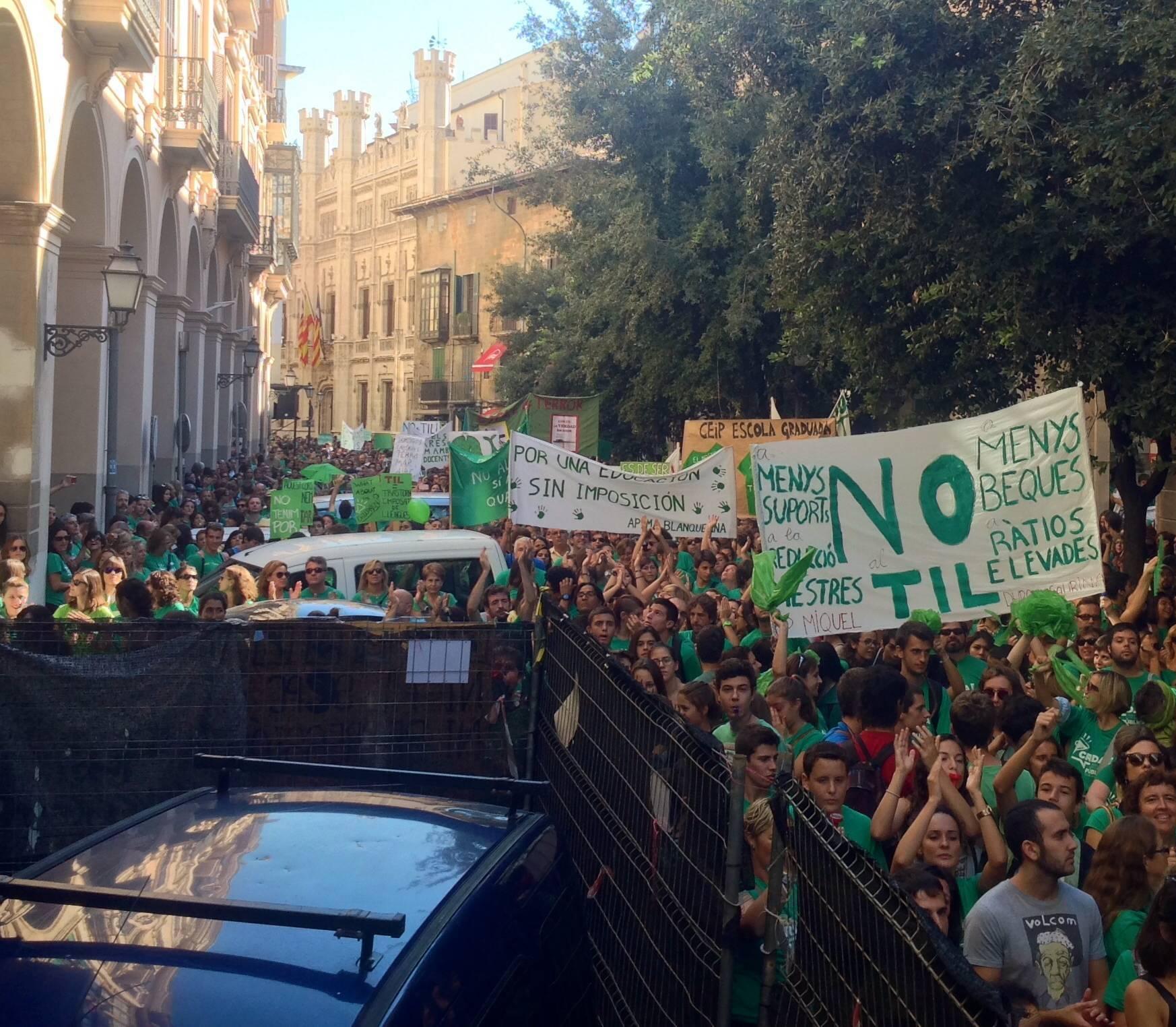Protesta balears