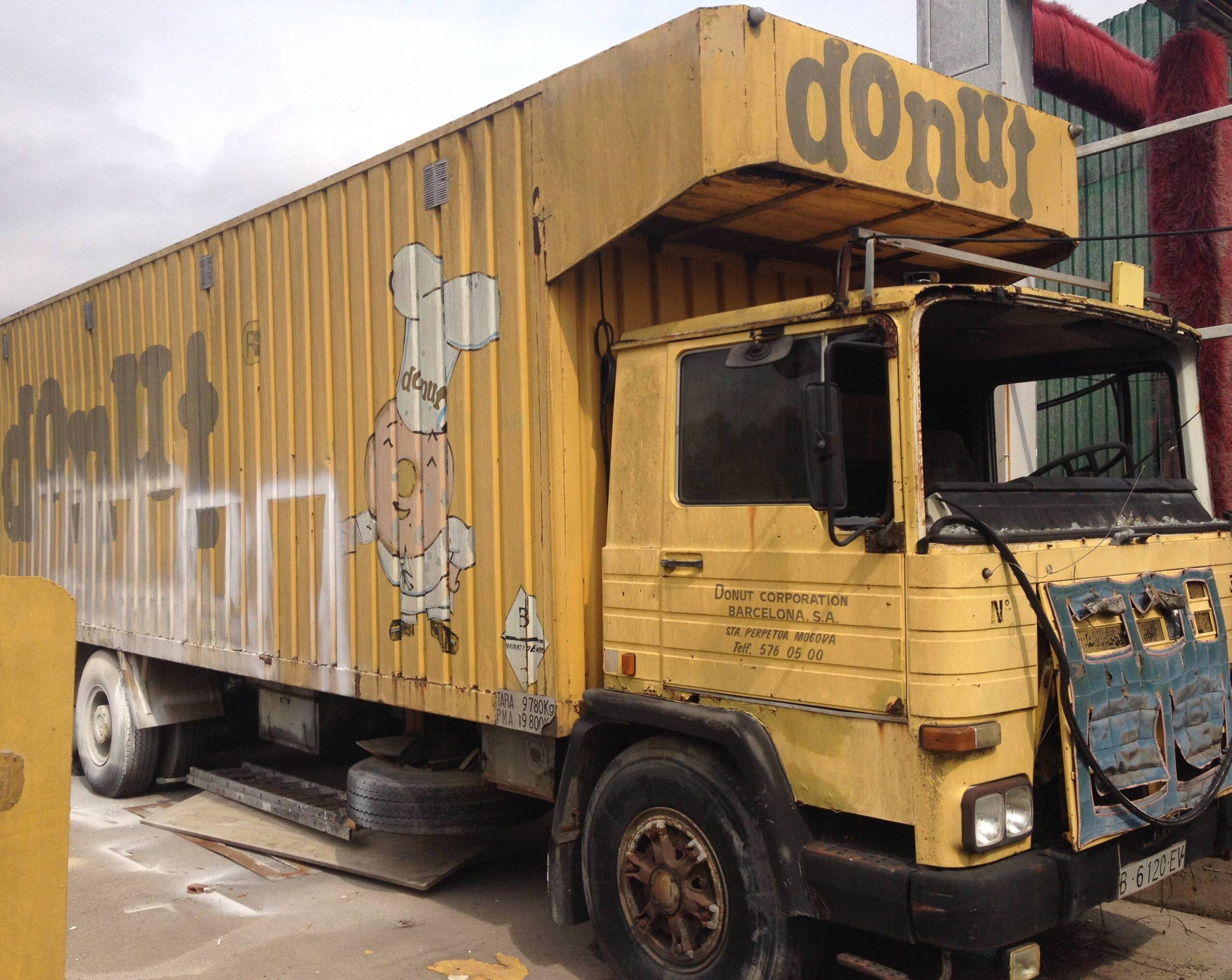Donuts camió vell