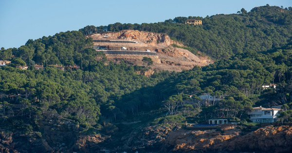 Zona de la cantera de S'Antiga que se quiere urbanizar