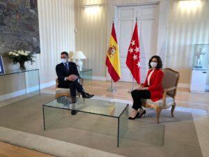 Pedro Sánchez i Isabel Díaz Ayuso