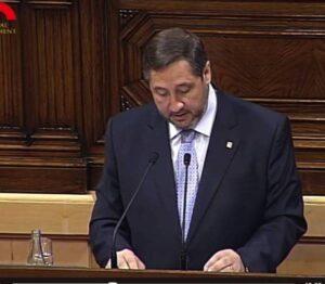 Josep Maria Pelegrí aquest dimecres al Parlament