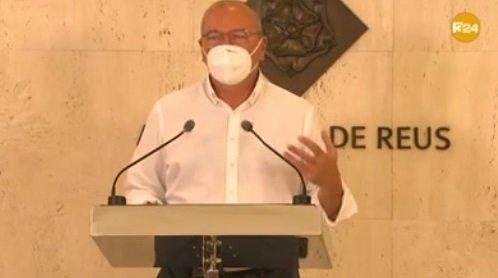 Carles Pellicer, alcalde de Reus