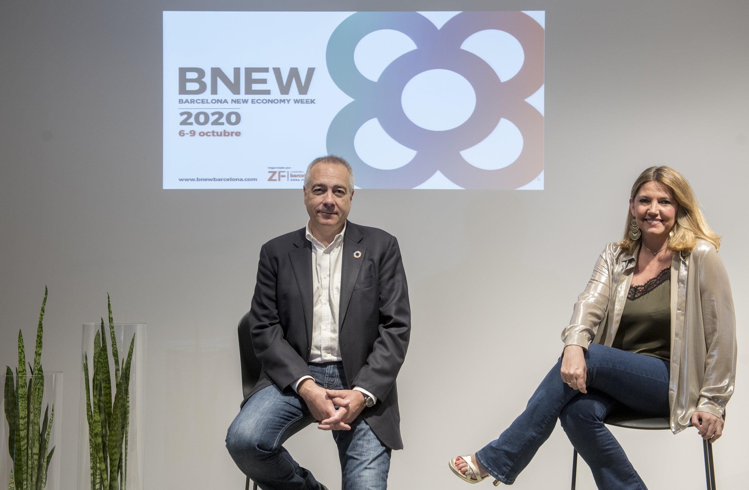 Pere Navarro y Blanca Sorigué