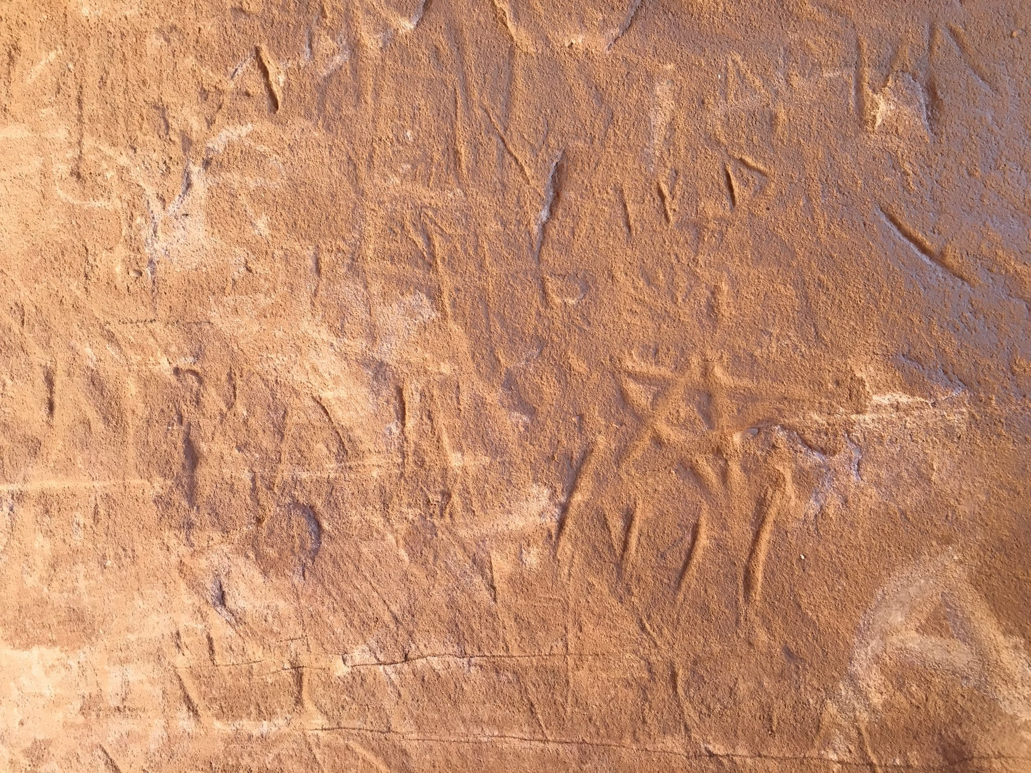 Estelada esculpida en Petra