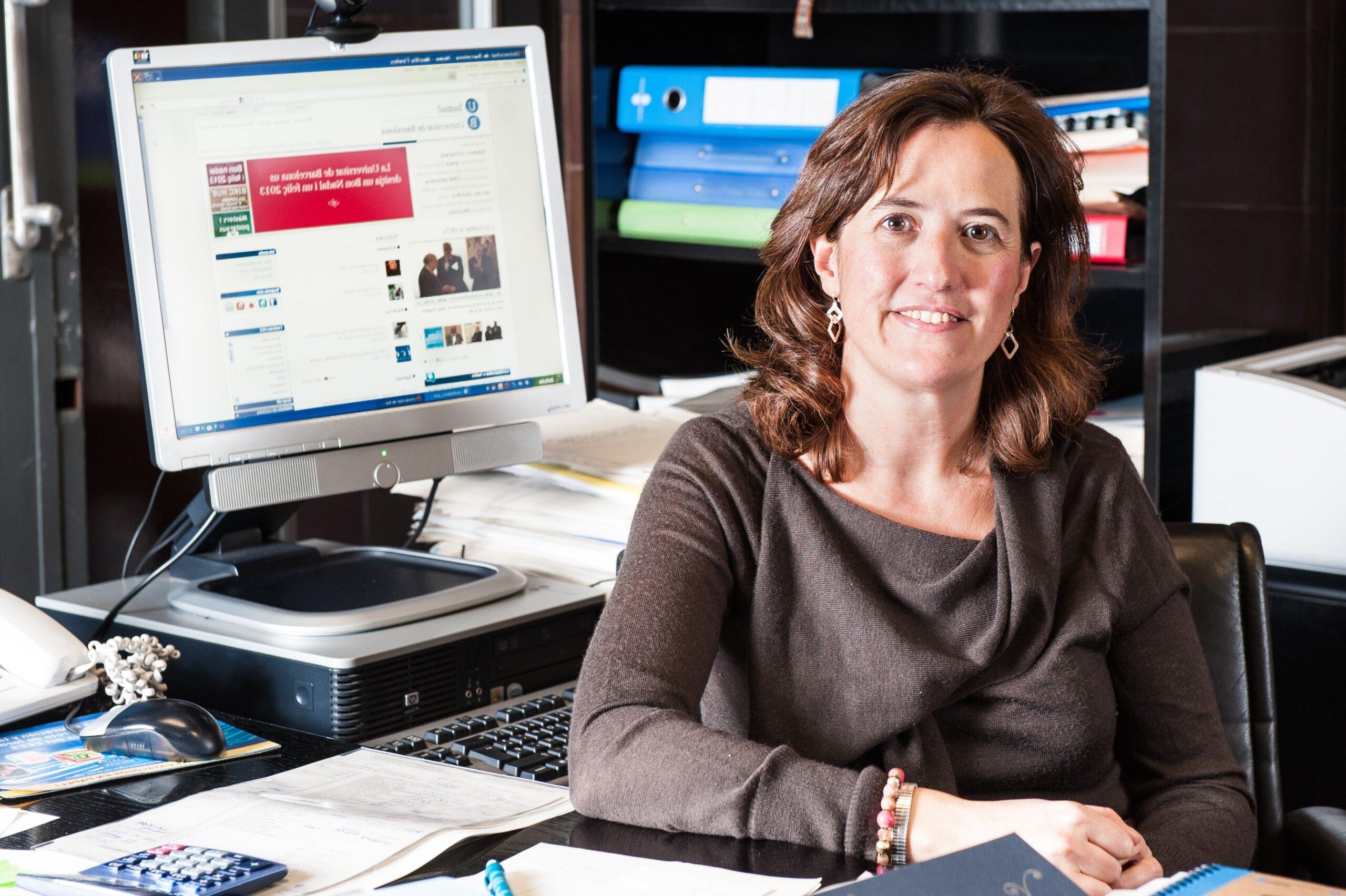 Elisenda Paluzie va accedir a la presidència de l'ANC el mes de mar