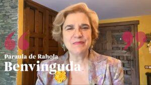 Primer vídeo del canal de youtube 'Paraula de Rahola', penjat el 9 d'