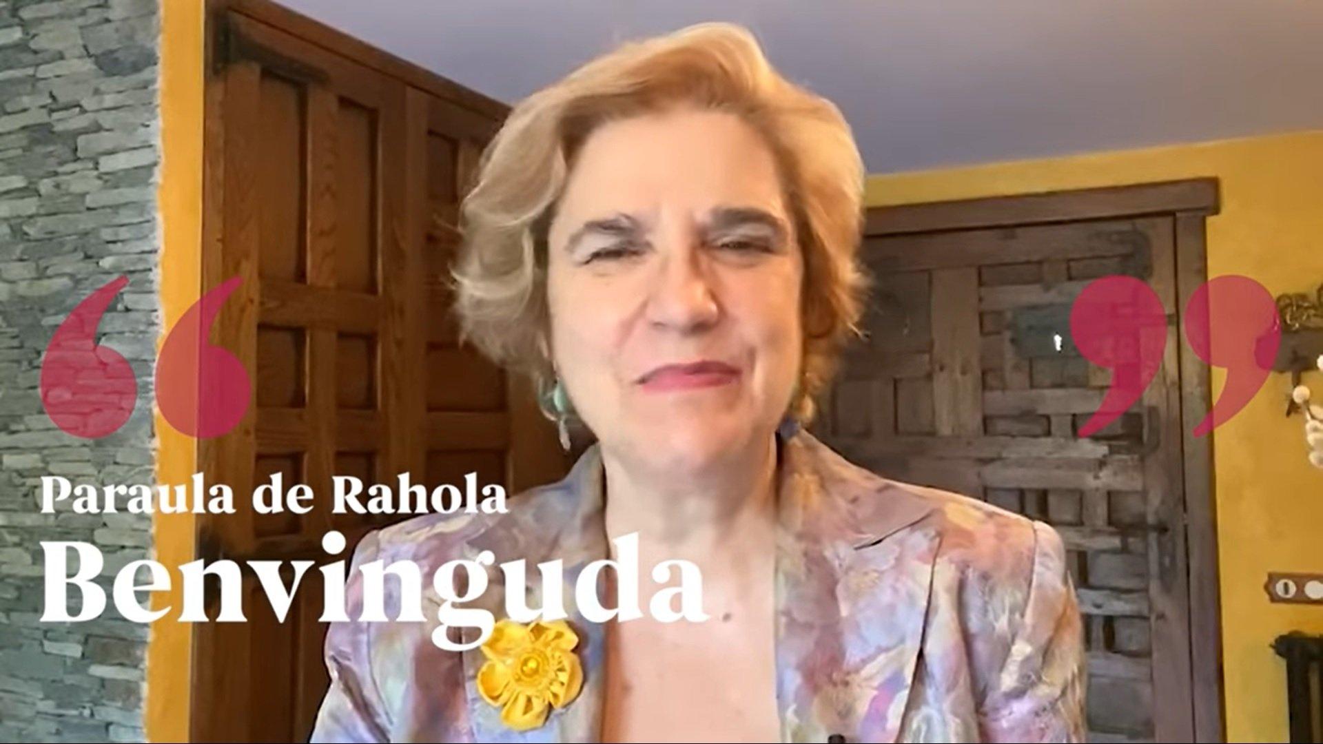 Primer video del canal de youtube 'Paraula de Rahola', publicado el 9 de oct