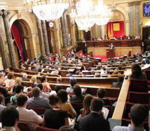 Ple sobre joventut al Parlament