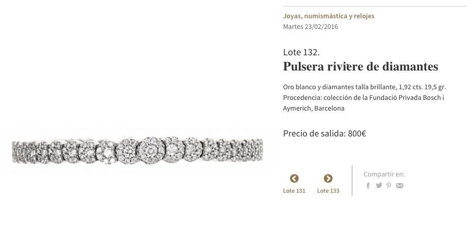 polsera aymerich diamants