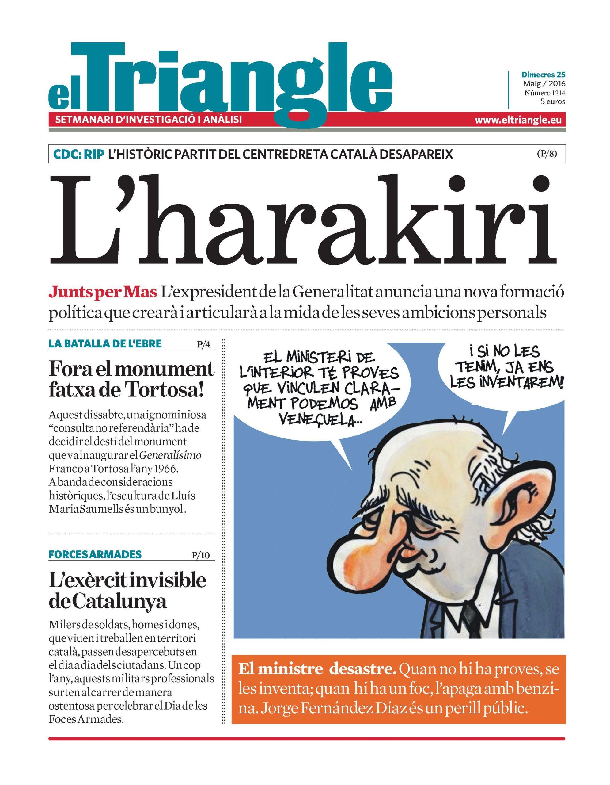 portada el triangle 25-05-2016