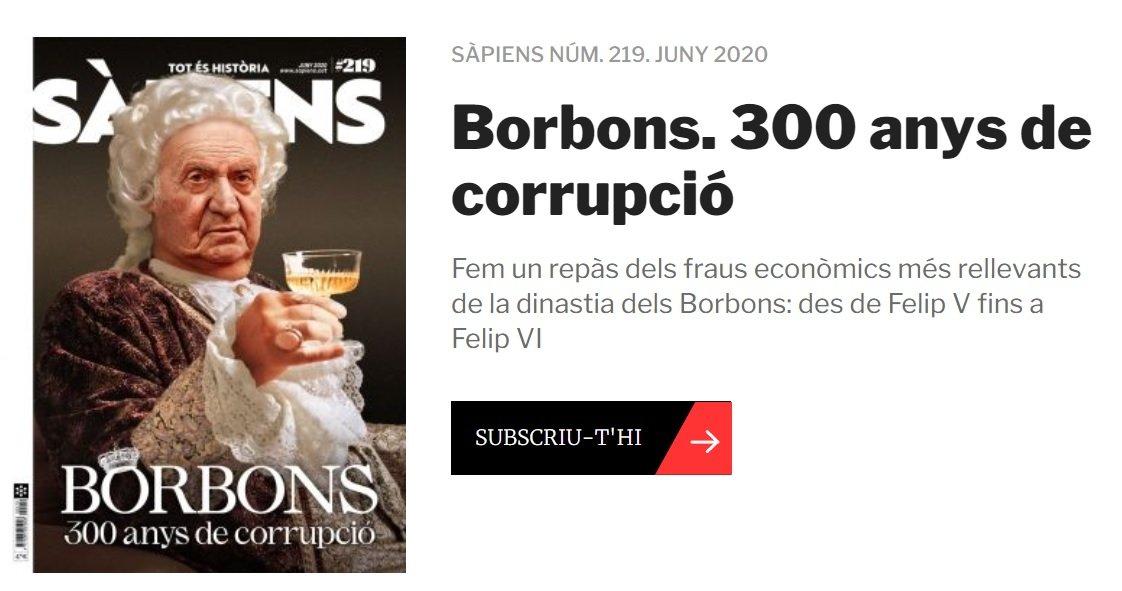 Portada del ejemplar de junio de la revista Sàpiens