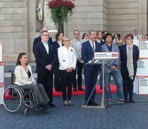 Pilar Díaz amb Jaume Collboni