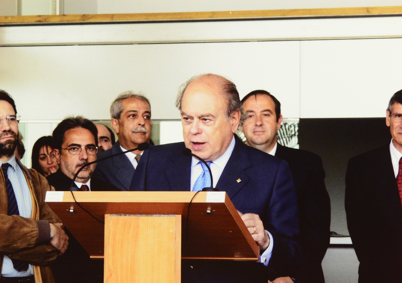 Jordi Pujol, el 2001
