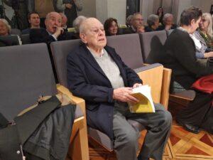 Jordi Pujol, durante la presentación del libro-homenaje a su figura