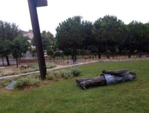 estatua pujol premia a terra