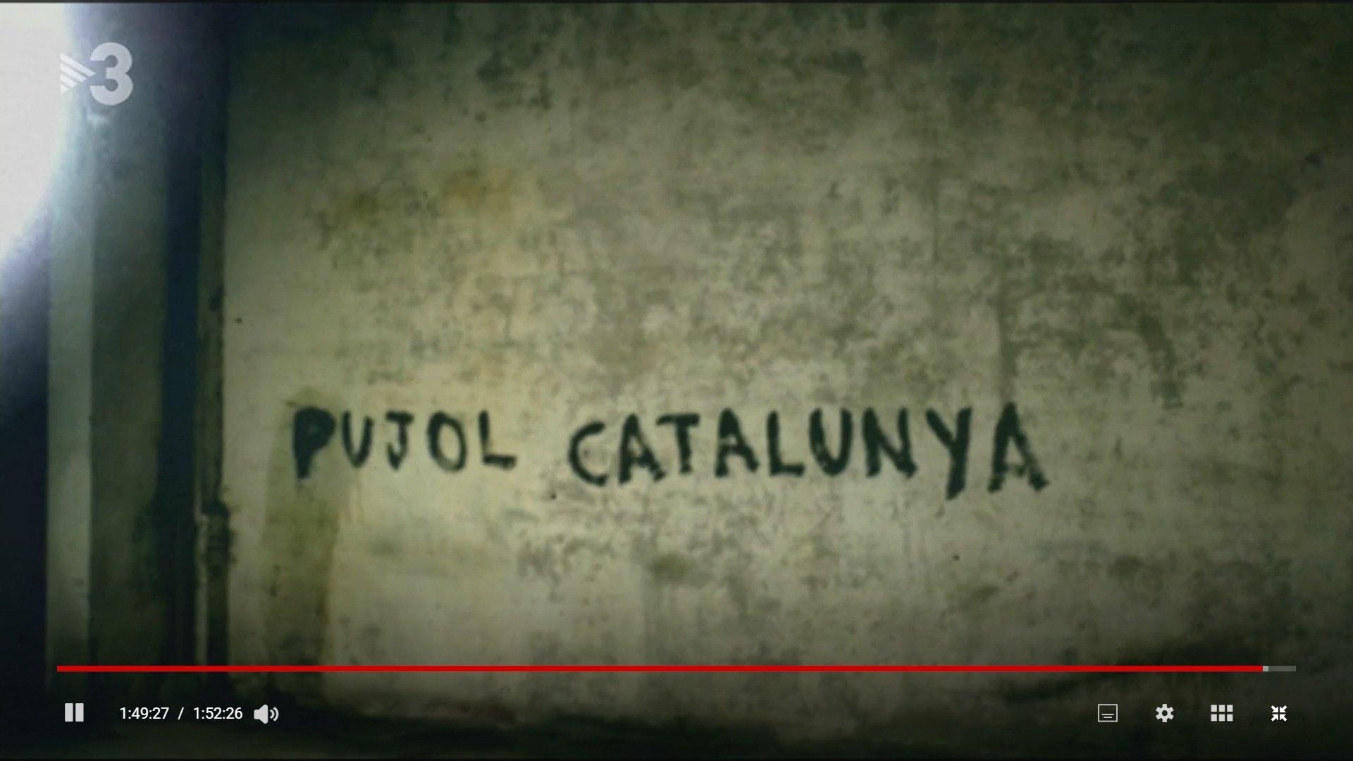 Imatge del documental 'Pujol Catalunya. El Consell de Guerra' recollid