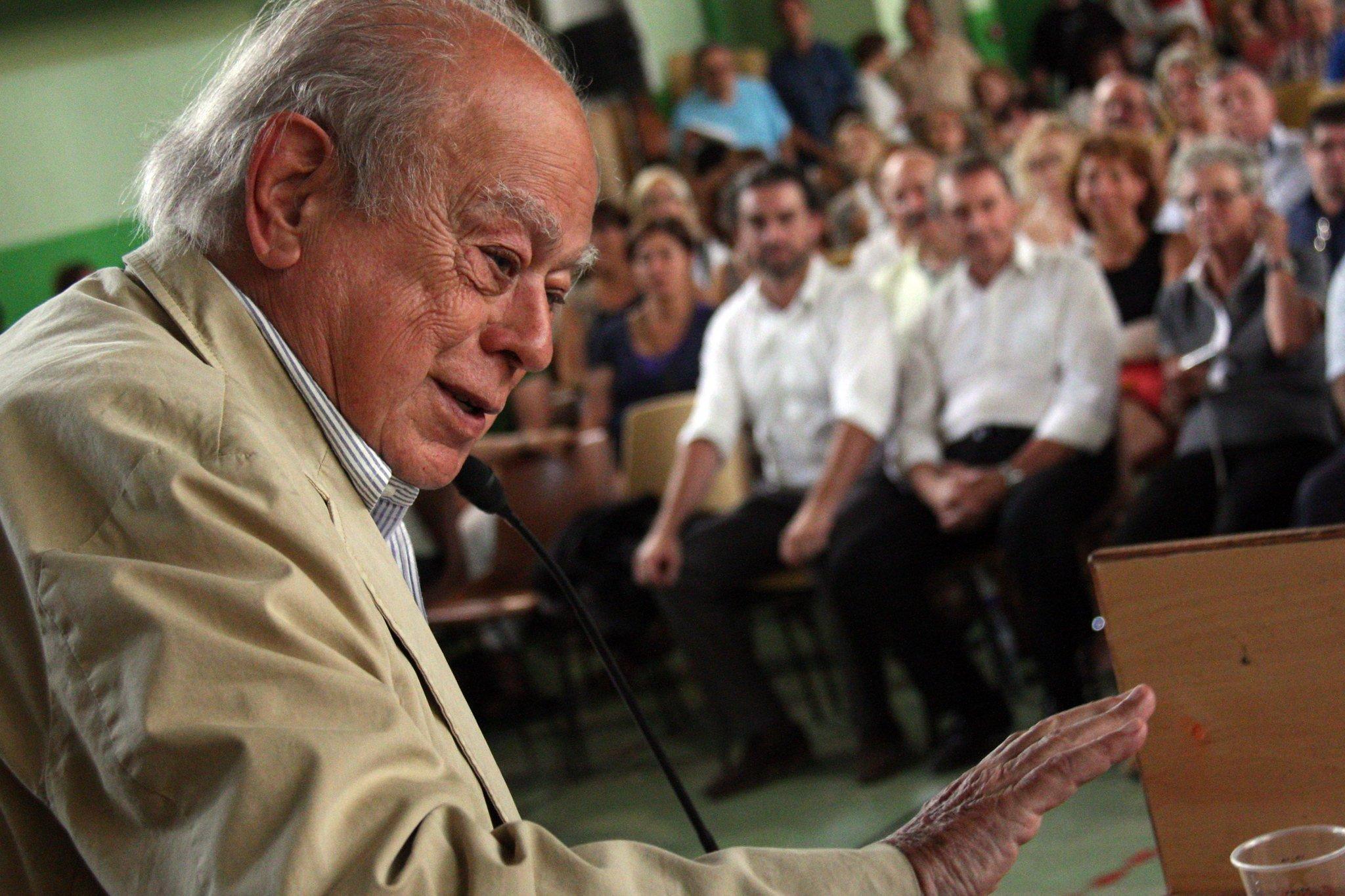 Jordi Pujol, durante un acto de Convergència
