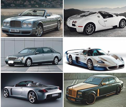 cotxes luxe
