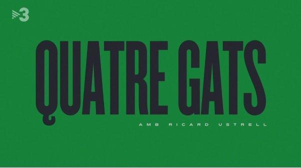 Careta d'entrada del programa 'Quatre gats', de TV3