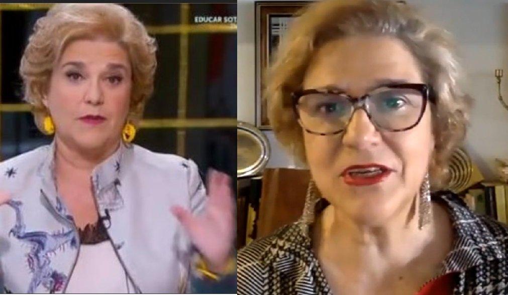 Pilar Rahola a TV3 i a La 2