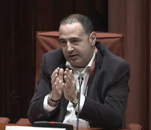 El catedràtic en ciència política de la UPF, Carles Ramió, a la comissió parlamentària sobre el frau