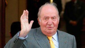 El rei emèrit Joan Carles de Borbó