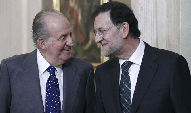 El Rei i Rajoy