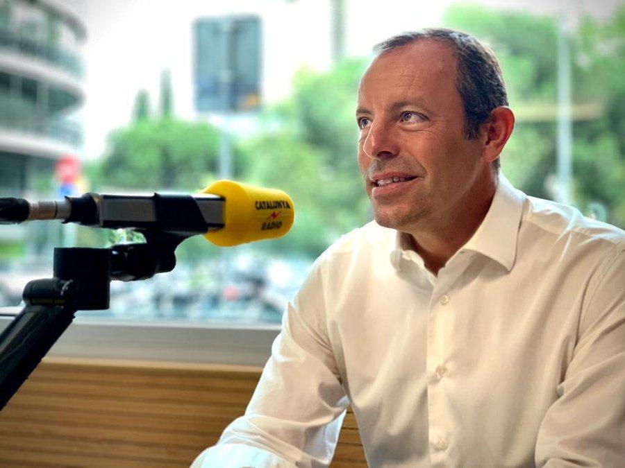 Sandro Rosell en la entrevista de Mònica Terribas en Catalunya Ràdio
