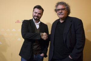 Els diputats d'ERC, Rufián i Tardà