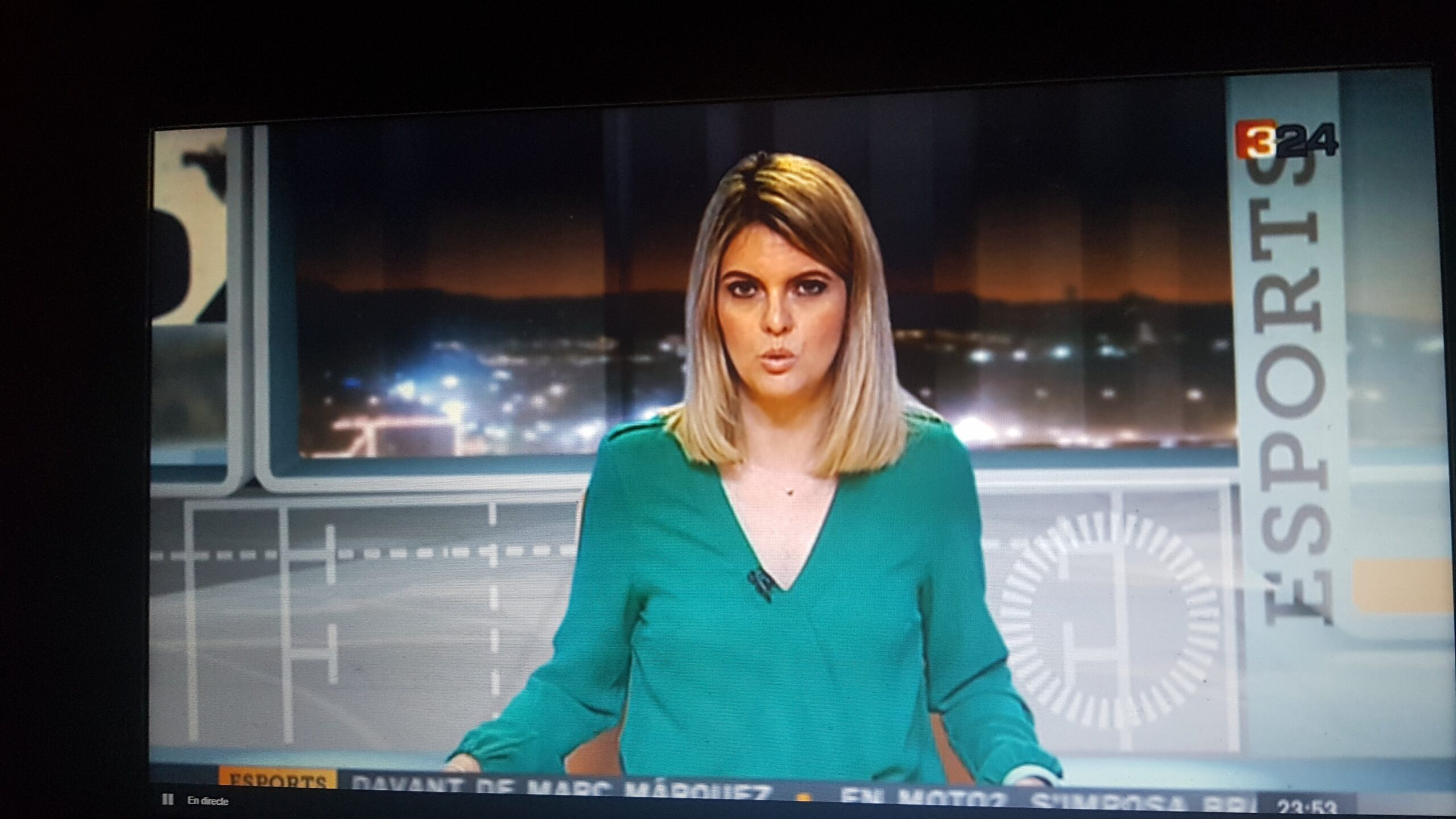 Ruth Gumbau sustituye a Xevi Bardolet en el canal 3/24